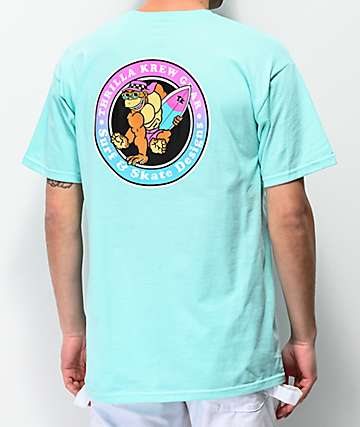 Thrilla Krew Surf Fade Teal T-Shirt