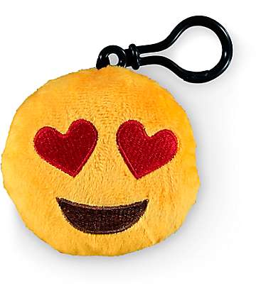 Throwboy Emoji Heart Plush Keychain