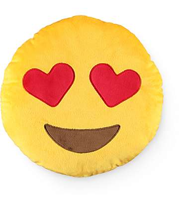 Throwboy Hearts Emoji Pillow