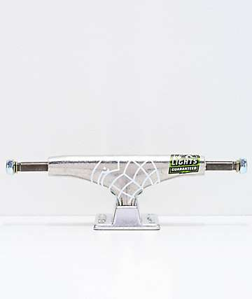 Thunder Polished Silver 145 Hollow Light Skateboard Truck