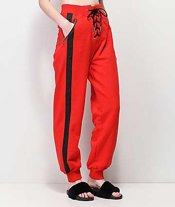 Tiger Mist Venus Red Sweatpants
