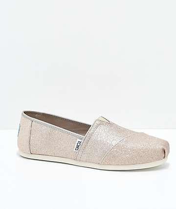 Toms Classic Glimmer zapatos en color oro