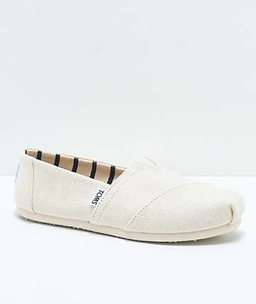 Toms Classic Venice Antique White Shoes