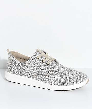 Toms Del Rey Tan Tweed Shoes
