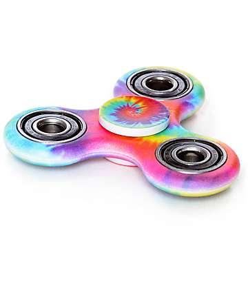 Top Trenz Primary fidget spinner con efecto tie dye