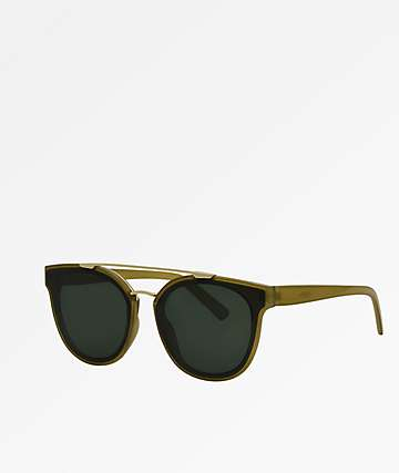 Topanga Olive Sunglasses