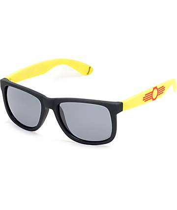 Townie MN State Flag Black Sunglasses