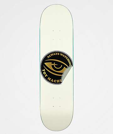 "Toy Machine Always Watching 8.25"" Skateboard Deck"