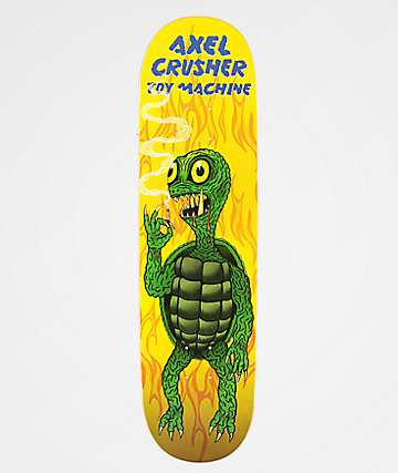"Toy Machine Axel Gamera 8.25"" Skateboard Deck"