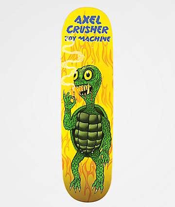 "Toy Machine Axel Gamera 8.25"" Skateboard Deck"