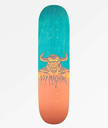 "Toy Machine Hell Monster 8.25"" Skateboard Deck"