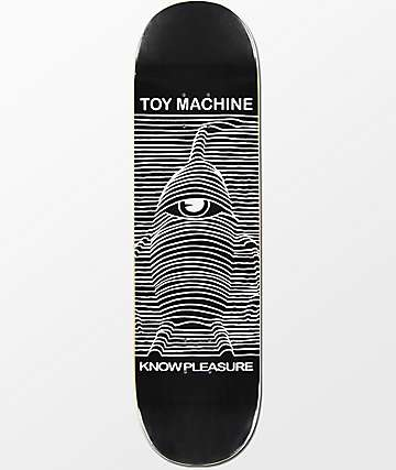 "Toy Machine Know Pleasure  8.5"" Skateboard Deck"