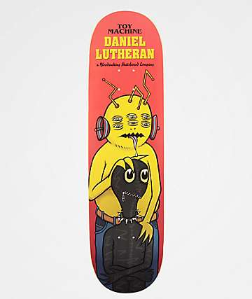"Toy Machine Lutheran Gimp 8.5"" Skateboard Deck"