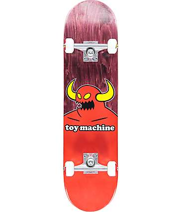 "Toy Machine Monster 8.0"" skateboard completo"