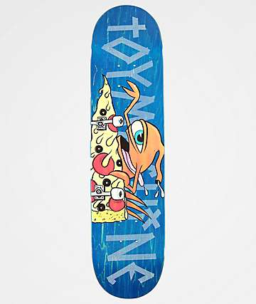 "Toy Machine Pizza Sect 7.75"" Skateboard Deck"