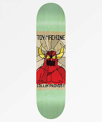 "Toy Machine Provost Broken 8.0"" Skateboard Deck"