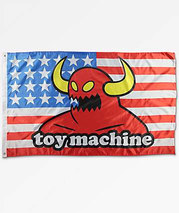 Toy Machine Stars & Stripes bandera