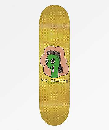 "Toy Machine Turtle Mullet 8.25"" Skateboard Deck"