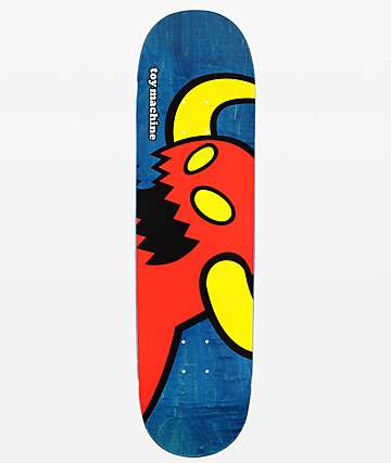 "Toy Machine Vice Monster 8.25"" Skateboard Deck"