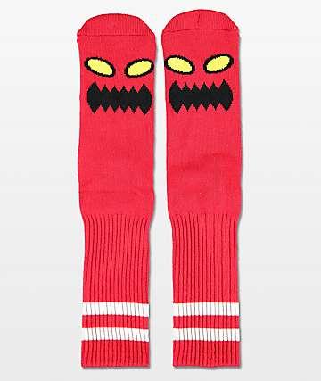 Toy Machine calcetines rojos de monstro