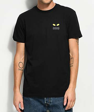 Toy Machine x RVCA Standard Black T-Shirt