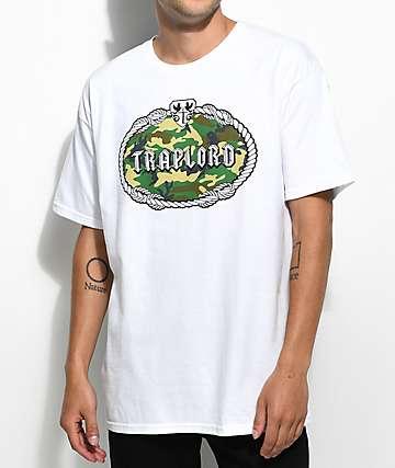Trap Lord Camo Fill Crest camiseta blanca