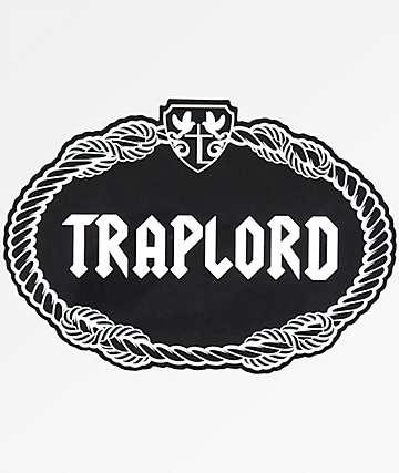 Trap Lord Crest Black Sticker