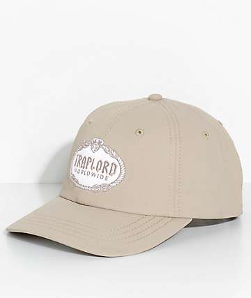 Trap Lord Crest Sand Dad Hat