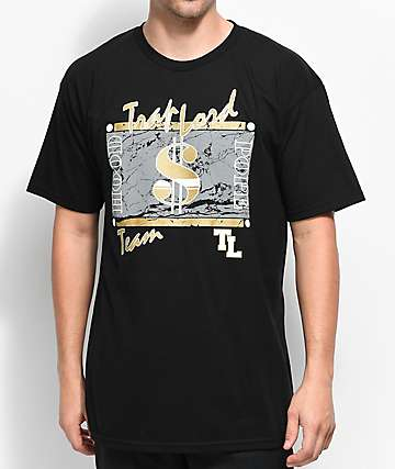 Traplord $$ Team Black T-Shirt