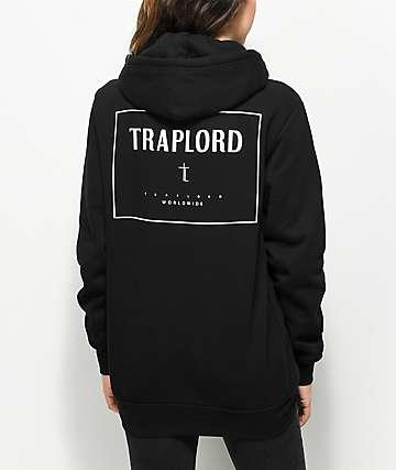 Traplord Box Logo Black Hoodie