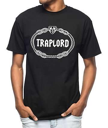 Traplord Crest Black T-Shirt
