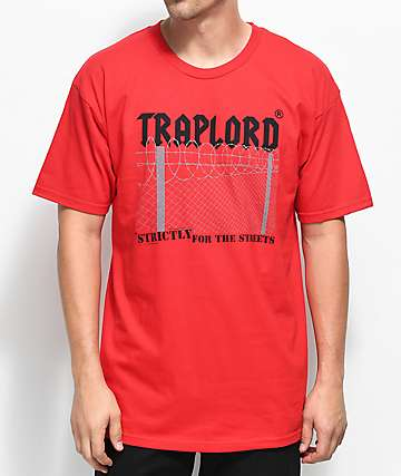 Traplord For The Streets Red T-Shirt