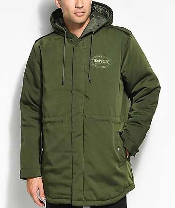 Traplord Olive Utility Jacket