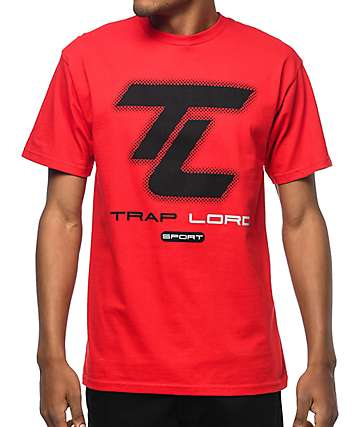 Traplord Sport Red T-Shirt