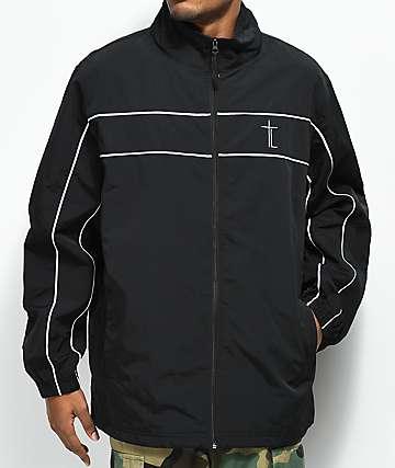 Traplord Sport chaqueta negra de chándal