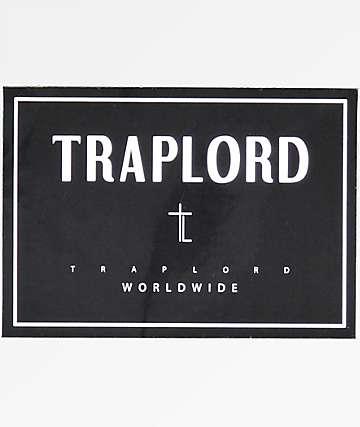 Traplord World Wide Black Sticker