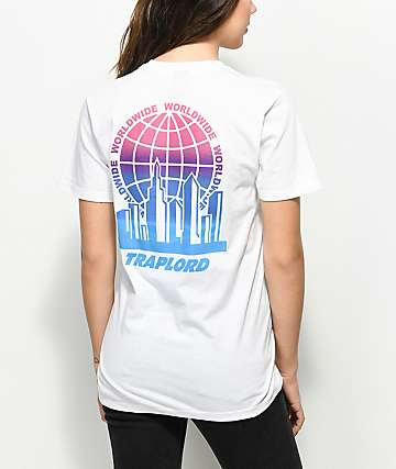 Traplord Worldwide White T-Shirt