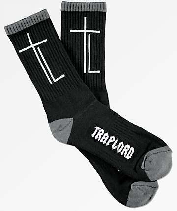 Traplords T-Lord Black & Grey Socks
