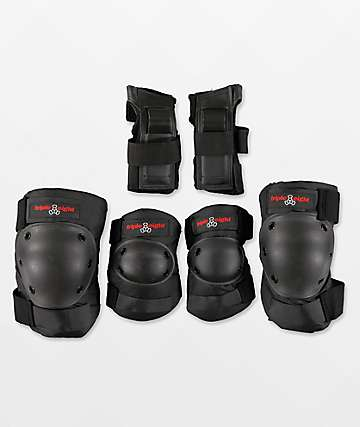 Triple 8 paquete de 3 almohadillas deportivos