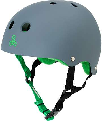 Triple Eight Sweatsaver Carbon Rubber Skateboard Helmet