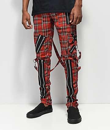 Tripp NYC pantalones ajustados en rojo