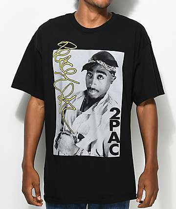 Tupac Signature Edition Black T-Shirt
