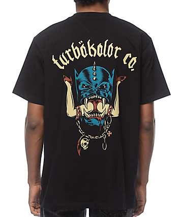 Turbokolor Head camiseta negra