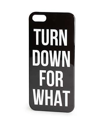 Turn Down iPhone 5 Case