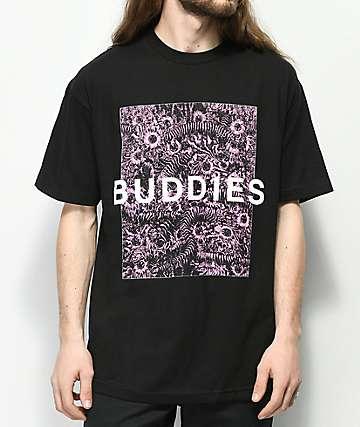 ULT Buddies camiseta negra y rosa