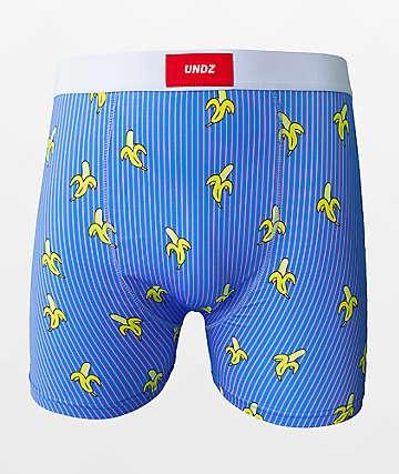 UNDZ Banana Blue Boxer Briefs