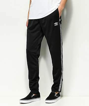 Umbro Diamond Tape Black Training Pants