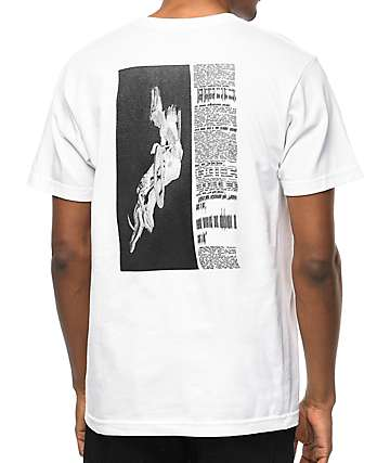 Undefeated Warp Trick White T-Shirt