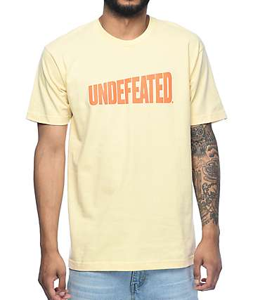 Undefeated Whole Wheat Tan T-Shirt