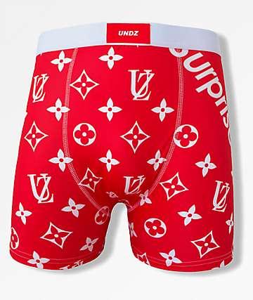 Undz x Surprise Red Boxer Briefs